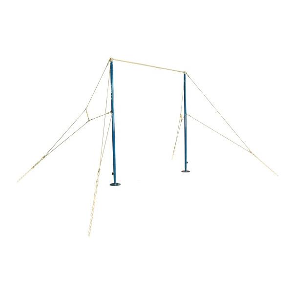 """Spannreck """"Exklusiv"""", für Wettkampf und Spitzensport, Höhe von 255-285 cm verstellbar, ohne Verspannung"""