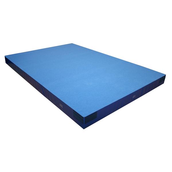 Niedersprungmatte, 200 x 100 x 20 cm, blau