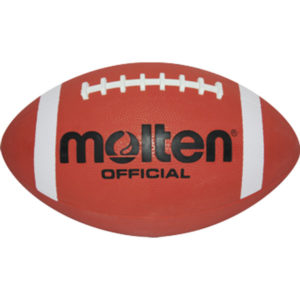 American Football, JUNIOR, Gummi, 280mm Länge, Indoor und Outdoor