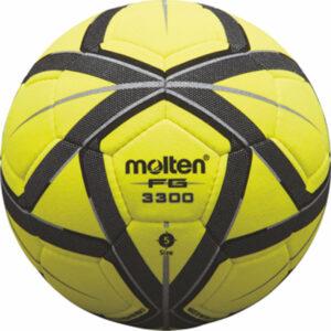 Hallenfußball INDOOR EXTRA, Größe 5, gelb/schwarz/silber