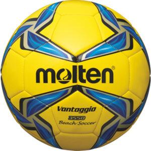 Beach-Soccer-Ball OFFICIAL, Größe 5, gelb/blau/silber