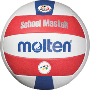 """School MasteR"" Beachvolleyball, weiches Synthetik-Leder, maschinengenäht"