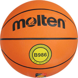 molten® Trainings-Basketball B986, DBB geprüft, FIBA geprüft, Größe 6