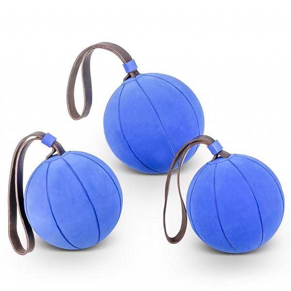 WV Schleuderball mit dicker Lederschlaufe - 800 Gramm