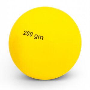 Wurfball aus Kunststoff - 200 g