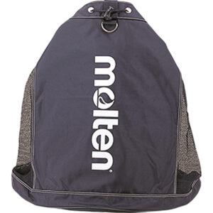 Ballsack für bis zu 10 Bälle, verstellbarer Schultergurt, Belüftungsnetze, schwarz