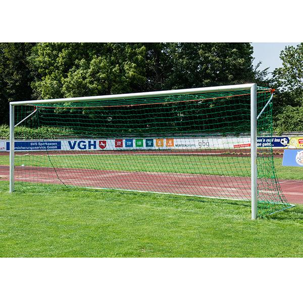 Stadion-Fußballtor, EN 748 -Typ 2, Netzbügel, silber