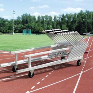 Hürden-Transportwagen aus Aluminium , für ca. 30 Hürden