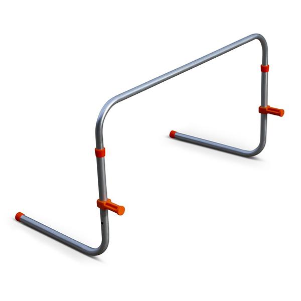 Steh-Auf-Hürde MIDI, Höhenverstellbar, aus Aluminium