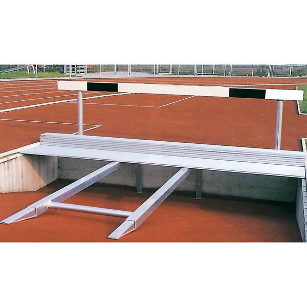 Wettkampf-Hindernishürden, 3,96 m breit, Gesamthöhe verstellbar