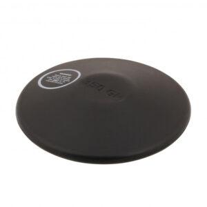 Übungs-Diskus, 0,75 kg, Gummi, schwarz