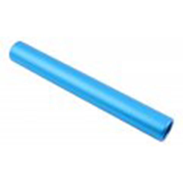 Staffelstab eloxiert aus Alu, Länge 30cm, Senior, blau, wettkampftauglich