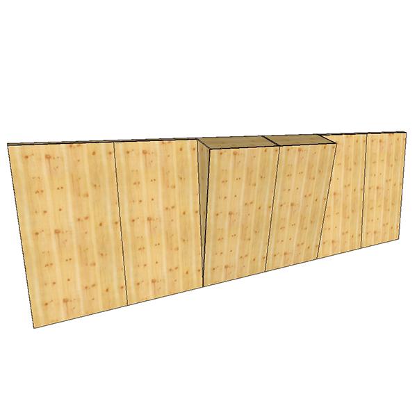 Boulderwand Bausatz Indoor Natur Pur 6 mit breitem Überhang