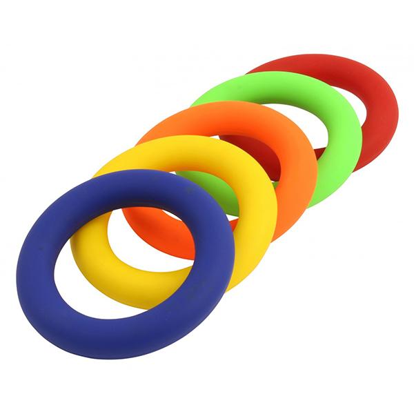 Turnier-Tennisring , 180g, blau, rot, gelb, grün
