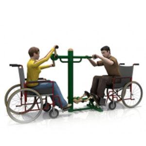 Arm trainer & feet pedal