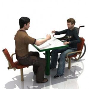 Handicap Chess Table