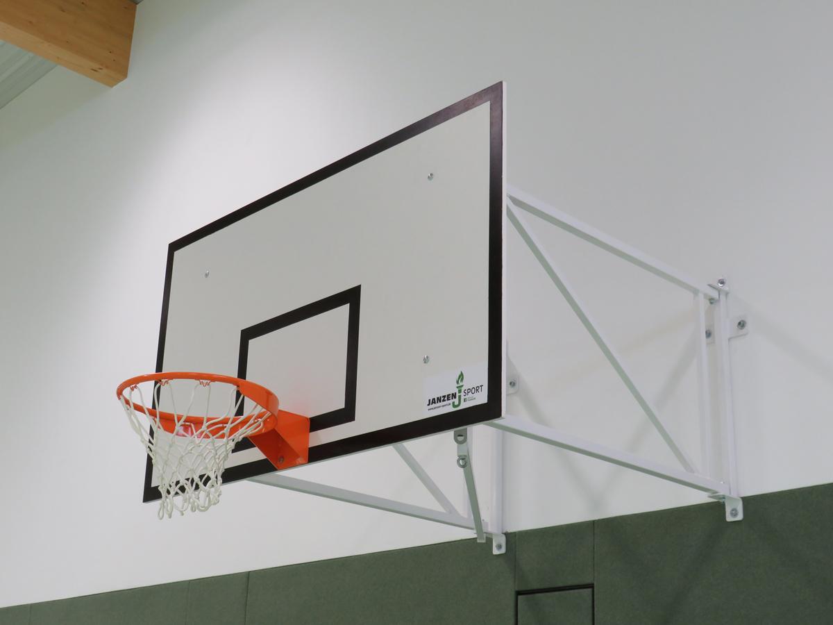 Basketball-Wandgerüst nach DIN 7899