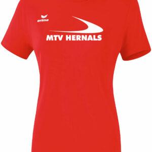 Damen Funktions T-Shirt rot