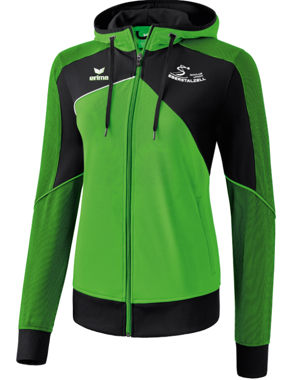Damen Trainingsjacke mit Kapuze