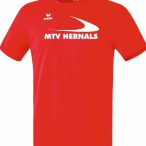 Herren Funktions T-Shirt rot