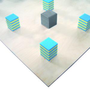 Bodenturnfläche mit Unterkonstruktion ohne Stahlfedern