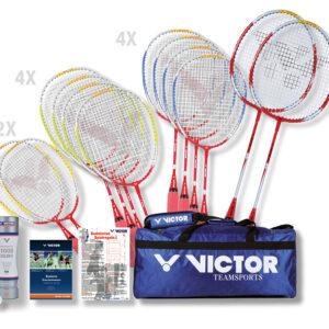 Badminton Schulsport-Paket Konzept-Set