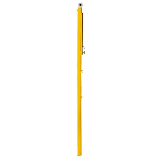 Badminton-Säule aus Stahlrohr 40 x 40 mm