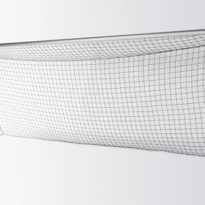 Fußballtor in Bodenhülsen mit freier Netzaufhängung 7,32 x 2,44 m