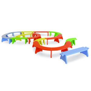 Puzzlebänkchen-Set stapelbar