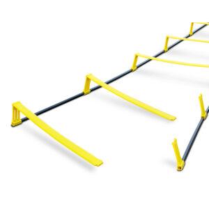 Koordinations- und Hürdenleiter 2 in 1