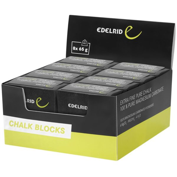 Edelrid Chalk Block im Karton