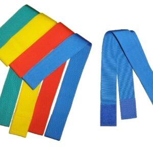 Mannschaftsbänder, verstellbar, mit Klett