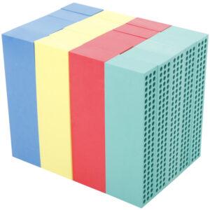 BlockX Schaumstoffblöcke (1 Satz)