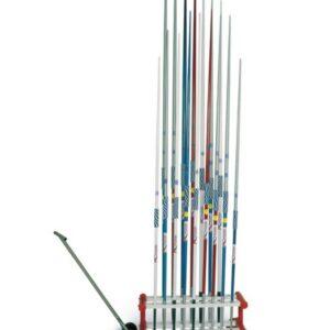 POLANIK® Speerwurfständer für 18 Speere