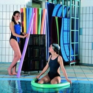 Aufbewahrungswagen für max. 40 Pool-Nudeln