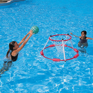 Wasserbasketballkorb