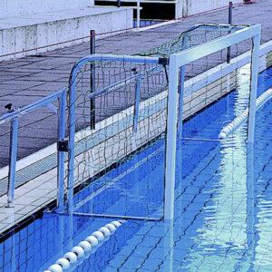 "Wasserballtor ""KLAPP EX""  Beckenrand - pro Paar"