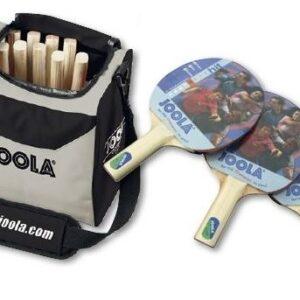 JOOLA Tischtennisschläger - Schulset mit Tasche