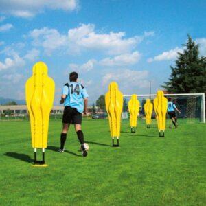 Freistoß-Dummy Set PROFESSIONELL Fußballzubehör