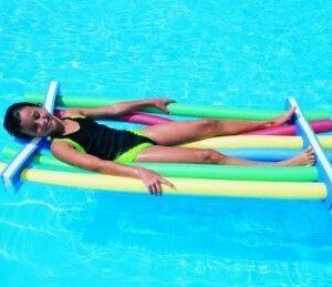 Grevinga® Splash Pool-Nudel-Halter mit oder ohne Poolnudeln