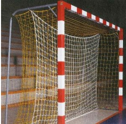 Fangnetz aus Polypropylen für Hallenhandball-Tore
