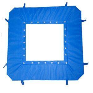 Rahmenpolster-Ganzabdeckung für Mini-Tramp 125 cm